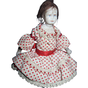 """4"""" Tiny Bisque Doll house Doll  Free P&I US Buyers!"""