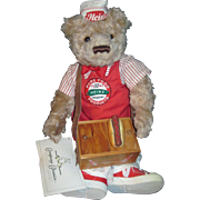 1st Heinz ltd Ed Bear Hot Dog Vendor Free P&I US Buyers