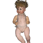 "18"" AM German Character Baby SWEET Free P&I US Buyers"