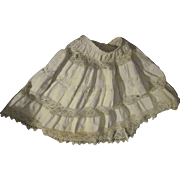 """Wonderful 11"""" Doll Slip For China or Bisque Dolls Free P&I US Buyers"""