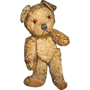 "Old 7"" Jointed Teddy Bear Sweet! Free P&I US Buyers"