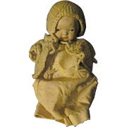 """5"""" Vintage all bisque Jointed Baby Doll Free P&I US Buyers"""