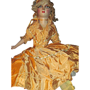 Beautiful 1938 Golden Girl Boudoir Doll w/provanance Free P&I US Buyers