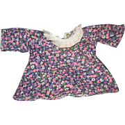 Unusual Print Dress for Raggedy Ann Doll Free P&I US Buyers !