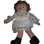 "19"" Georgene Raggedy Ann Doll  Free P&I US Buyers"