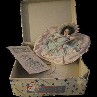 HTF Hollywood doll Little Shepherdess box & booklet fre P&I US Buyers