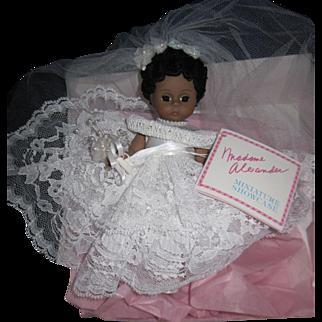 "Madame Alexander 8"" Bride Doll Free P&I US Buyers"