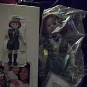 "14"" Avon Redhead Girl Scout Doll MIB Free P&I"