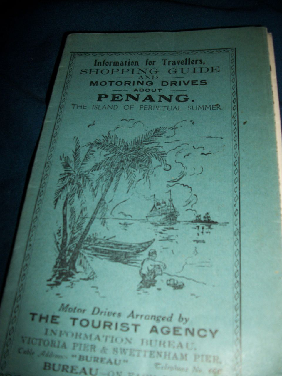 PenangTourist Guide map RR Views Free Postage Insurance
