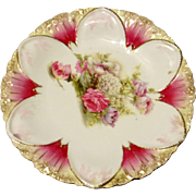 RS Prussia Flower Plate