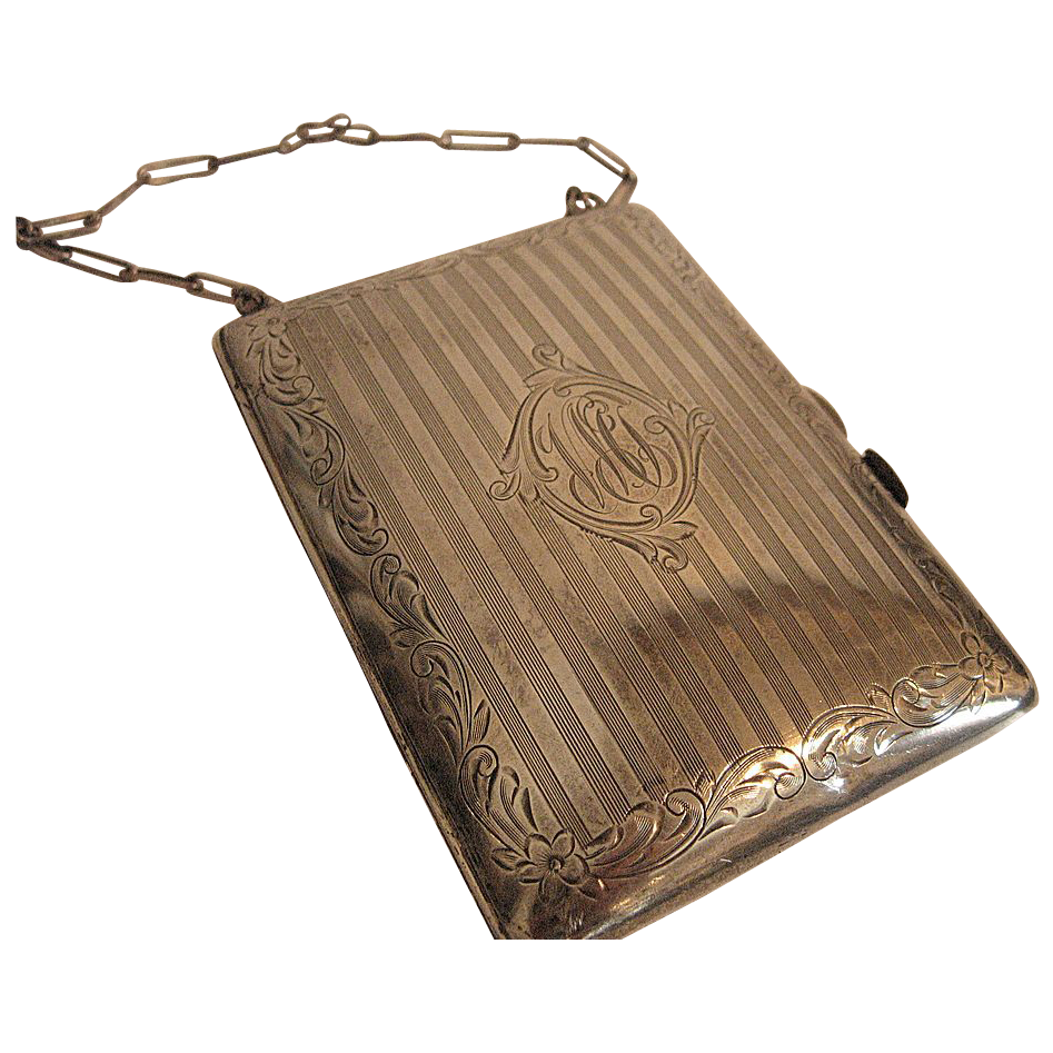 Early 20th Century Sterling Silver Coin Purse