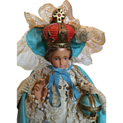Infant of Prague. Votive Statue.