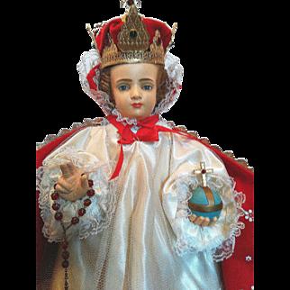 Large Infant of Prague for Alter or Chapel