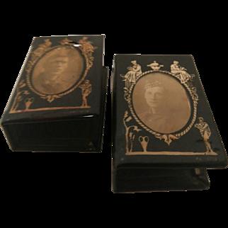 WW1 Scottish Regiment Portrait Matchbox Covers