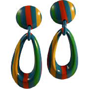 Fun & Funky 70's Bold Earrings Clips