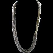 Silky Santo Domingo Kewa Heishi Two Three Strand Necklaces