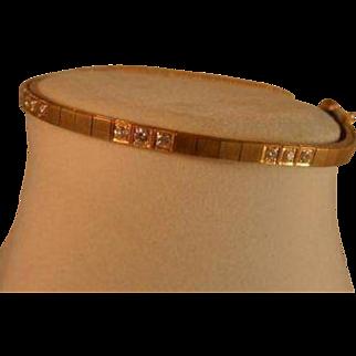 Extravagant  Diamond .55 14K Gold Bracelet
