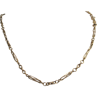 Attractive 9K Yellow Gold Chain