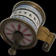 Bilston Enamel Tape Measure