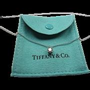 Tiffany Half Carat Diamond Pendant