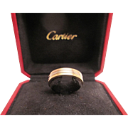 Pre-loved Classic 18K Cartier Tricolor Ring