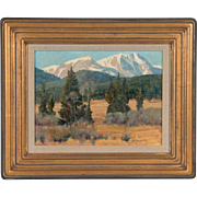 Stephen Elliott Original Oil Painting Rocky Mountain Nat'l Park Colorado Landscape