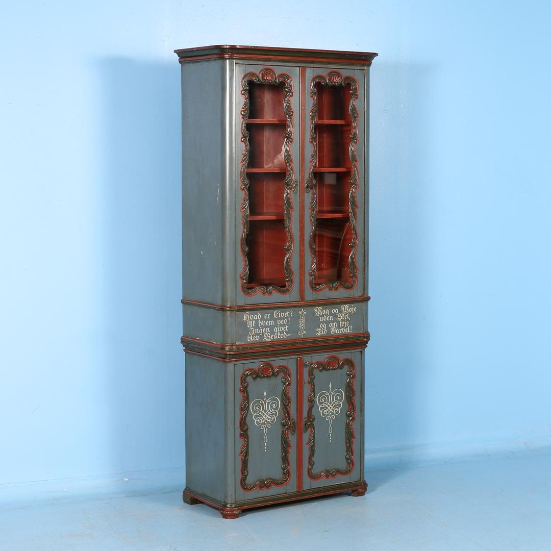 #0878C3 Antique Bookcase / Display Cabinet From Denmark With  with 1080x1080 px of Best Glass Display Cases Denver 10801080 image @ avoidforclosure.info