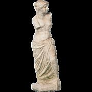 Vintage Swedish Cast Garden Sculpture of Venus de MIlo