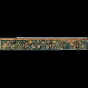 Antique 19th Century Hungarian Coat Hook With Original Paint