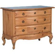 Small Antique Swedish Pine Chest of Drawers