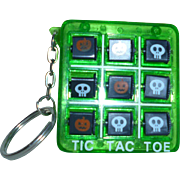 Halloween Tic Tac Toe Game and Key Chain