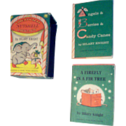 4 Miniature Children's Books--2 Christmas  2 extra