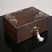 Decorative Victorian Jewellery Box