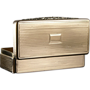 Antique Silver Gilt Snuff Box
