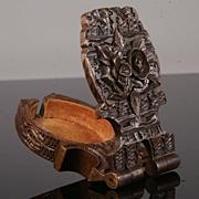 Antique Black Forest Watch Stand