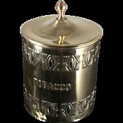 Lovely Brass Tobacco Box