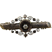 Antique diamond pin for doll