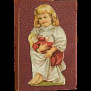 Antique scrap folio for dolls