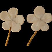 Lovely antique doll earrings