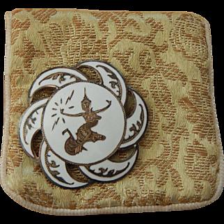 Siam pin w/original jeweler pouch