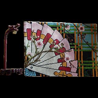Japanese birdcage hanger & rug