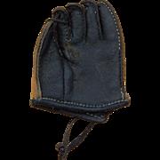 Old dolls leather baseball glove