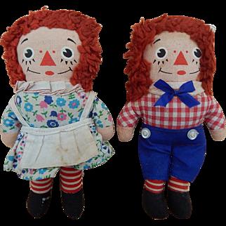 Knickerbocker Raggedy Ann & Andy