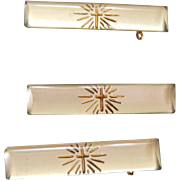 German glass pins for dolls