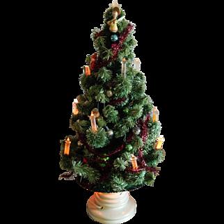 1940's light up Christmas tree for dolls
