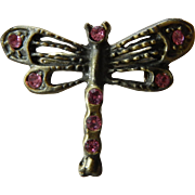 Lovely dragonfly pin for doll