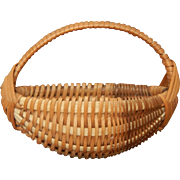 Vintage French fashion basket