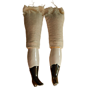 Vintage replacement china doll legs