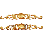 Antique ormolu dollhouse moldings