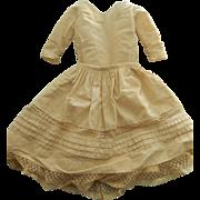 """Antique slip & one piece -24""""-25"""" kid body doll"""
